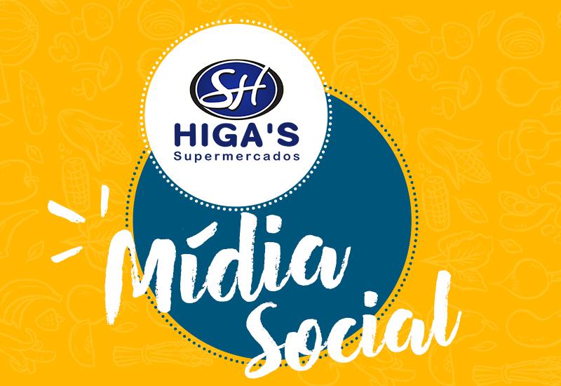 Higas Supermercados Social Mídia